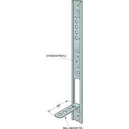 simpson strong tie c2ks wall starter kit 2400mm a1. Black Bedroom Furniture Sets. Home Design Ideas