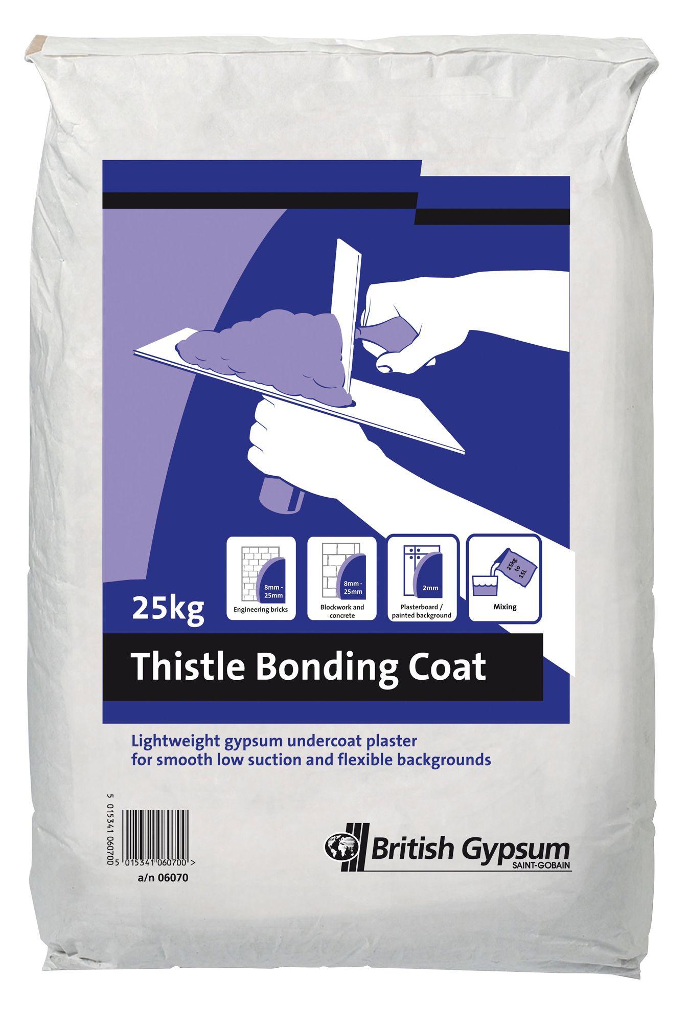 Pallet Of British Gypsum Thistle Bonding Coat Undercoat