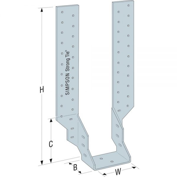 Simpson Timber to Timber Joist Hanger 50mm – JHA270/47