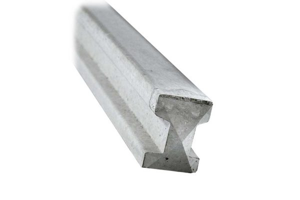 Concrete Intermediate Slotted Fence Post 9ft