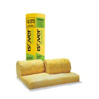 Pack of Isover Spacesaver Loft Roll Insulation 100mm - 10.64m2