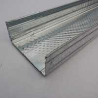 Pack of Drywall Steel U Channel 94mm - 3.0m