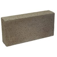 Solid Dense Concrete Block 7.3N 100mm