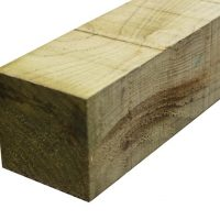 Treated Timber Fence Post 100mm x 100mm 3m